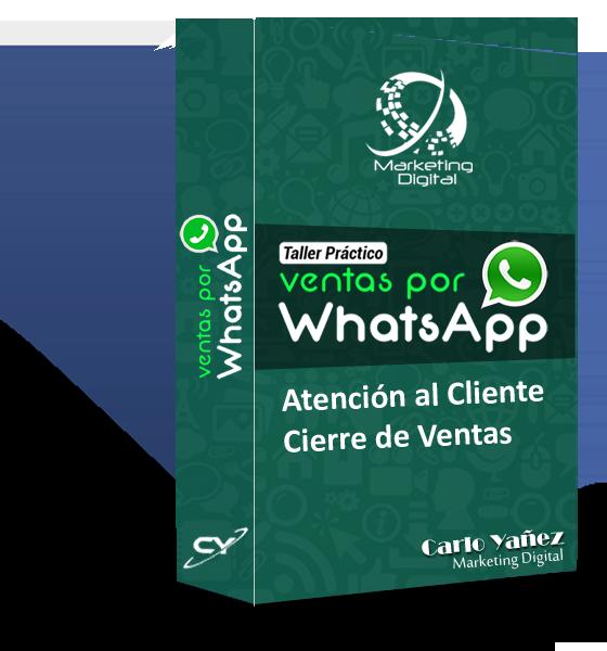 Taller Virtual Ventas con WhatsApp con Carlo Yañez